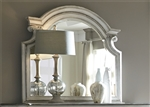 Magnolia Manor Mirror in Antique White Finish by Liberty Furniture - 244-BR51