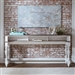 Magnolia Manor 74 Inch Console Table in Antique White Finish by Liberty Furniture - 244-OT7636