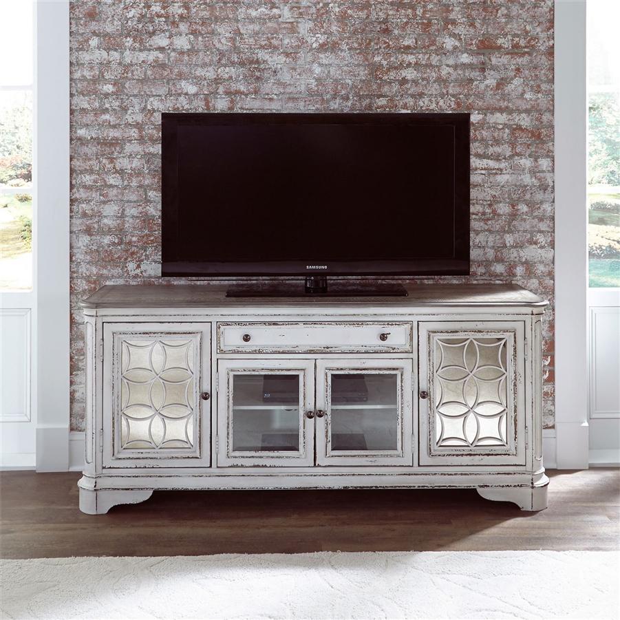 Magnolia Manor 74 Inch Tv Stand In