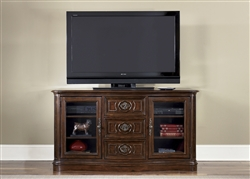 Andalusia 64-Inch TV Stand in Vintage Cherry Finish by Liberty Furniture - 259-TV62