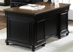 St. Ives Jr Executive Desk in Two Tone Finish by Liberty Furniture - 260-HO105