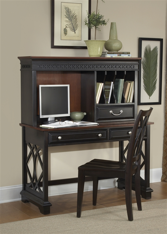 the ameriwood only p wid desk l cherry for home a works slate fmt hei with gray hutch