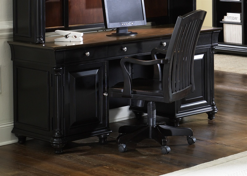 home office set. st ives 5 piece jr executive home office set in two tone finish by liberty furniture 260hoj