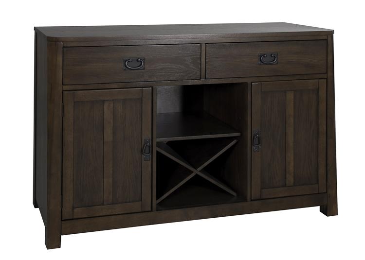 Urban Mission Server In Dark Mission Oak Finish By Liberty Furniture    27 SR5236