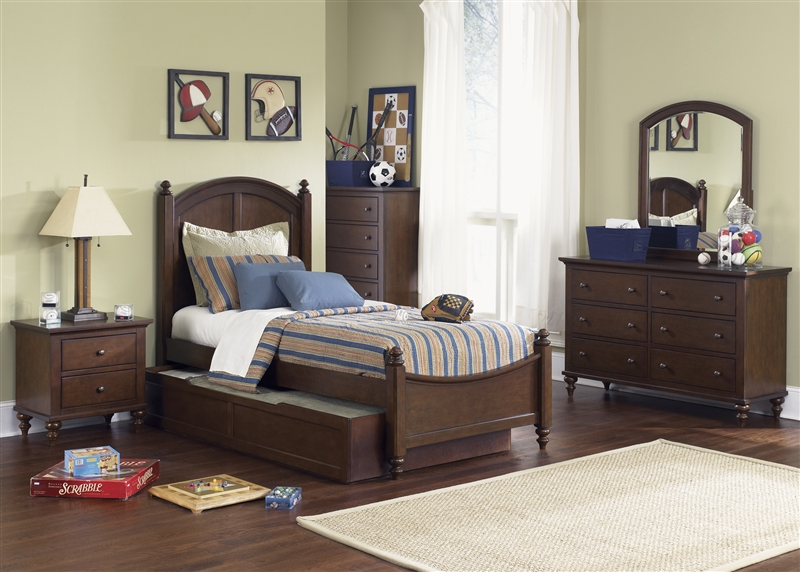 Good Abbott Ridge 4 Piece Youth Bedroom Set In Cinnamon Finish By Liberty  Furniture   277 BR11