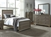 Hartly Upholstered Bed 4 Piece Youth Bedroom Set in Gray Wash Finish by Liberty Furniture - 283-BR-TUB
