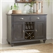 Ocean Isle Buffet in Slate with Weathered Pine Finish by Liberty Furniture - 303G-CB4866