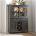 Ocean Isle Buffet and Hutch in Slate with Weathered Pine Finish by Liberty Furniture - 303G-CD-HB