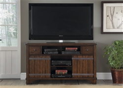 Aspen Skies 60-Inch TV Console in Russt Brown Finish by Liberty Furniture - 316-TV60