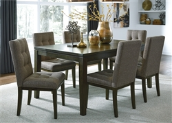 Belden Place Rectangular Leg Table 5 Piece Dining Set in Coffee Bean Finish by Liberty Furniture - 321-CD-5RLS