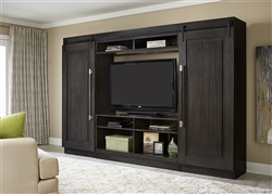 Abbey 4 Piece Entertainment Center in Charcoal Finish by Liberty Furniture - 328-ENTW-ECP