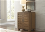 Pebble Creek Wine Cabinet in Weathered Butterscotch Finish by Liberty Furniture - 376-WC3742