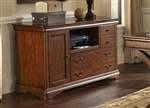 Brookview Credenza in Rustic Cherry Finish by Liberty Furniture - LIB-378-HO121