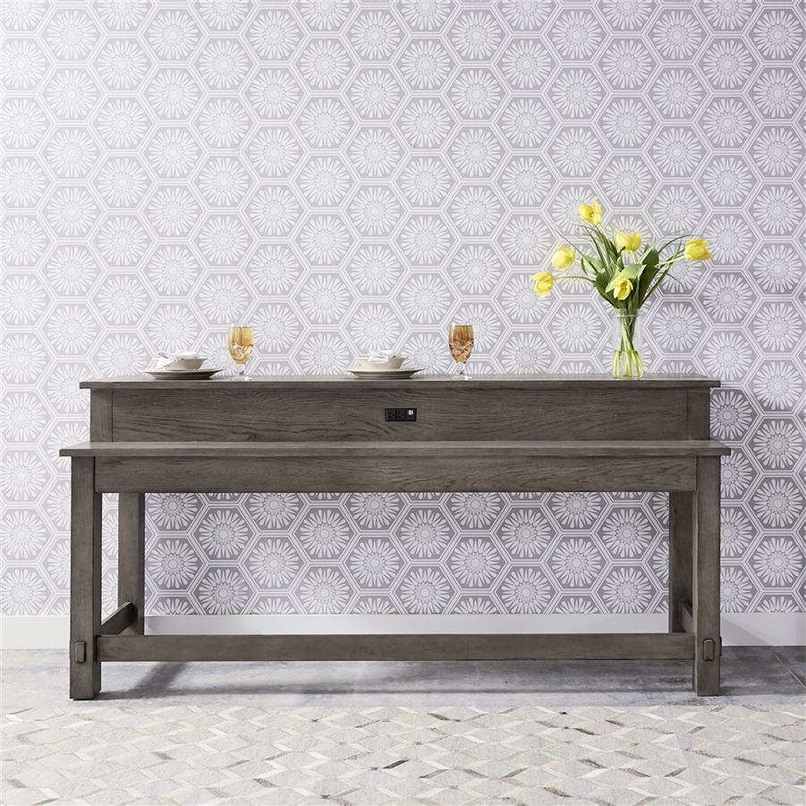 Peachy Modern Farmhouse Console Table In Dusty Charcoal Finish By Liberty Furniture 406 Ot7837 Squirreltailoven Fun Painted Chair Ideas Images Squirreltailovenorg