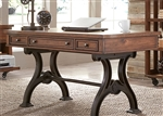 Arlington House Writing Desk in Cobblestone Brown Finish by Liberty Furniture - 411-HO107