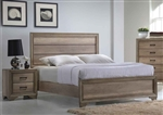 Sun Valley Panel Bed in Sandstone Finish by Liberty Furniture - 439-BR-QPB