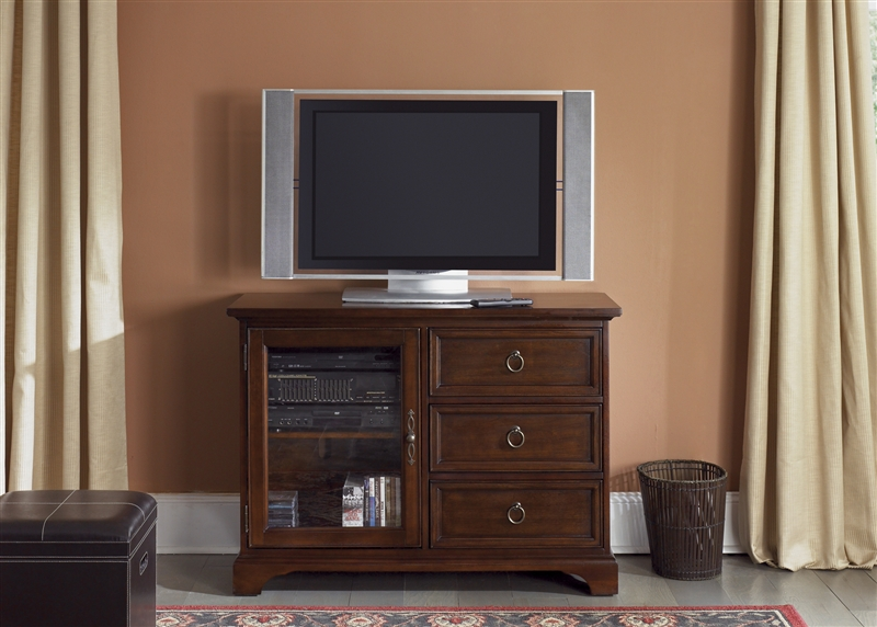 new arrivals 4dd9f ee87d Beacon 44-Inch TV Stand in Cherry Finish by Liberty Furniture - 452-TV44