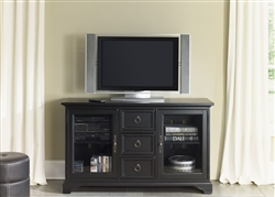 Beacon 54-Inch TV Stand in Black Finish by Liberty Furniture - 453-TV54