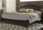Avalon Platform Bed in Dark Truffle Finish by Liberty Furniture - 505-BR-QPL