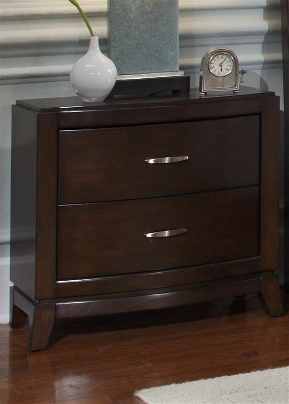 Avalon Upholstered Storage Bed 6 Piece Bedroom Set in Dark Truffle ...