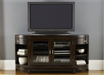 Avalon Entertainment TV Stand in Dark Truffle Finish by Liberty Furniture - LIB-505-TV67