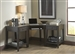 Autumn Oaks 3 Piece Desk in Black Finish by Liberty Furniture - 530-4