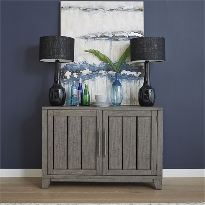 Crescent Creek Buffet in Weathered Gray Finish by Liberty Furniture - 530-CB5236