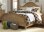 Harbor View Poster Bed in Sand Finish by Liberty Furniture - 531-P-BED