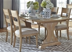 Harbor View Trestle Table 5 Piece Dining Set in Sand Finish by Liberty Furniture - 531-T4294