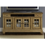 Harbor View 62 Inch Entertainment TV Stand in Sand Finish by Liberty Furniture - 531-TV62