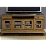 Harbor View 74 Inch Entertainment TV Stand in Sand Finish by Liberty Furniture - 531-TV74