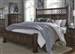 Lucca Poster Bed in Cordovan Brown Finish by Liberty Furniture - 535-BR-QPS
