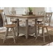 Al Fresco 5 Piece Gathering Table Set in Driftwood & Taupe Finish by Liberty Furniture - 541-CD-O5GTS