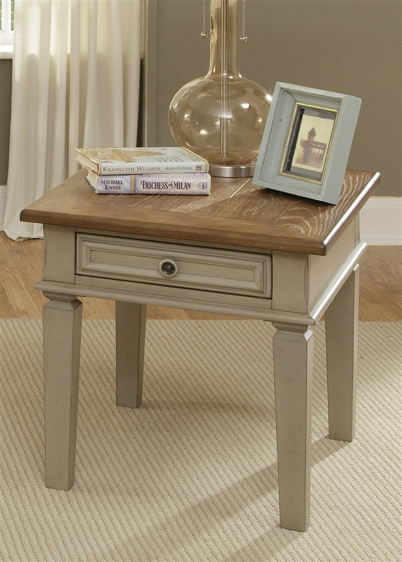 Bungalow Cocktail Table In Driftwood U0026 Taupe Finish By Liberty Furniture    541 OT