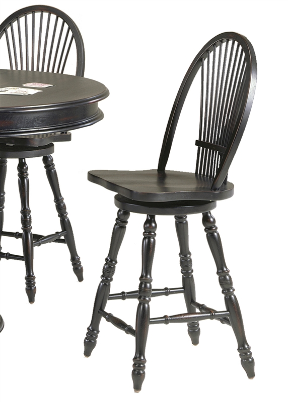 Café Espresso Pub Table 3 Piece Dining Set In Rubbed Black Finish By  Liberty Furniture   580 PUB