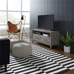 Mercury 47 Inch TV Console in Driftwood Gray Finish by Liberty Furniture - 581-TV47