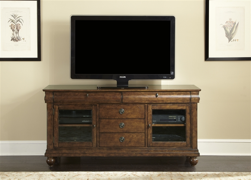 65 inch tv stand with mount uk at ashley furniture rustic traditions entertainment cherry finish liberty lib altra galaxy black
