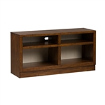 Lancaster 55 Inch TV Console in Antique White w Rub Thru and Antique Brown Finish by Liberty Furniture - 612-TV55