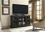 Bay Pointe 64 Inch TV Console in Rustic Black Finish by Liberty Furniture - 613-TV64