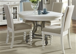 Harbor View Round Table 5 Piece Dining Set in Linen Finish by Liberty Furniture - 631-DR-O5ROS