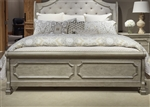Grand Estates Sleigh Bed in Gray Taupe Finish by Liberty Furniture - 634-BR-SL