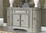 Grand Estates Buffet in Gray Taupe Finish by Liberty Furniture - 634-CB6638