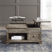 Southern Living Double Lift Cocktail Table in Weathered Taupe Finish by Liberty Furniture - 646-OT1011