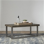 Sorrento Valley Cocktail Table in Wire Brush Tobacco Finish by Liberty Furniture - 654-OT1010