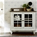 Whitney Server in Antique Linen and Weathered Gray Finish by Liberty Furniture - LIB-661W-SR4241