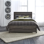 Tanners Creek Panel Bed in Greystone Finish by Liberty Furniture - 686-BR-QPB