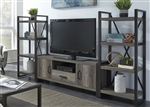 Tanners Creek 3 Piece Entertainment Center in Greystone Finish by Liberty Furniture - 686-ENTW-ECP