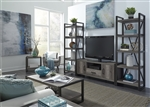 Tanners Creek 3 Piece Entertainment Center in Greystone Finish by Liberty Furniture - 686-ENTW-OEC