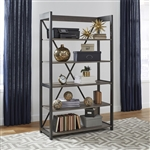 Tanners Creek Bookcase in Greystone Finish by Liberty Furniture - 686-HO201