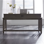 Tanners Creek Console Bar Table in Greystone Finish by Liberty Furniture - 686-OT7436